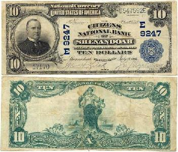 1902 $10 Note