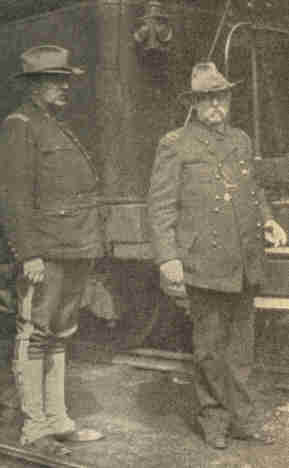 Col. Clements & General Gobin