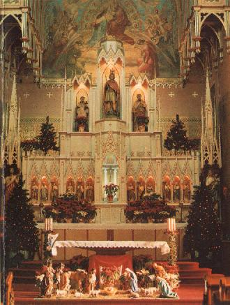 St. George Church at Christmas
